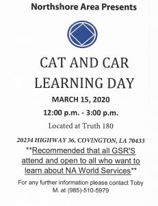 CAT CAR Workshop